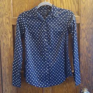 Long sleeved button down JCREW shirt